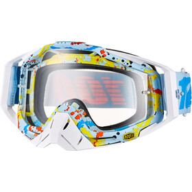 100% Racecraft Anti Fog Clear Goggles, hyperloop
